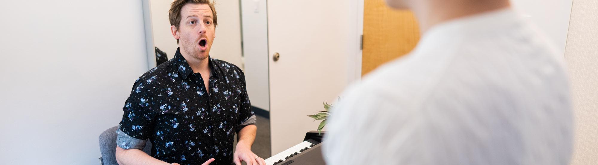 Vocal Coaching hero